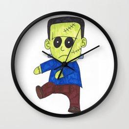 Frankenstein Monster Wall Clock