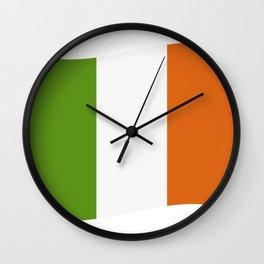 ireland flag Wall Clock