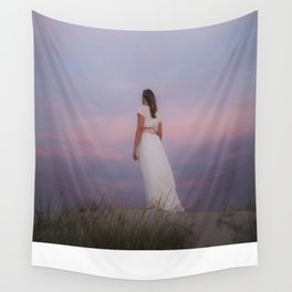 Sunset in the dunes Wall Tapestry