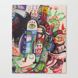 Örz Canvas Print
