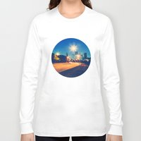 houston Long Sleeve T-shirts featuring Houston by GF Fine Art Photography