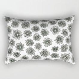 Coneflower Pattern Rectangular Pillow