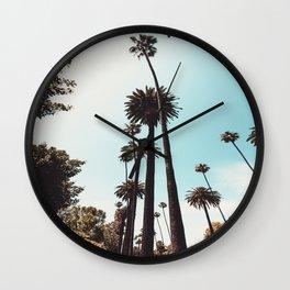 Beverly Hills California Palms Los Angeles Wall Clock