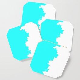 Shiny Turquoise balance Coaster