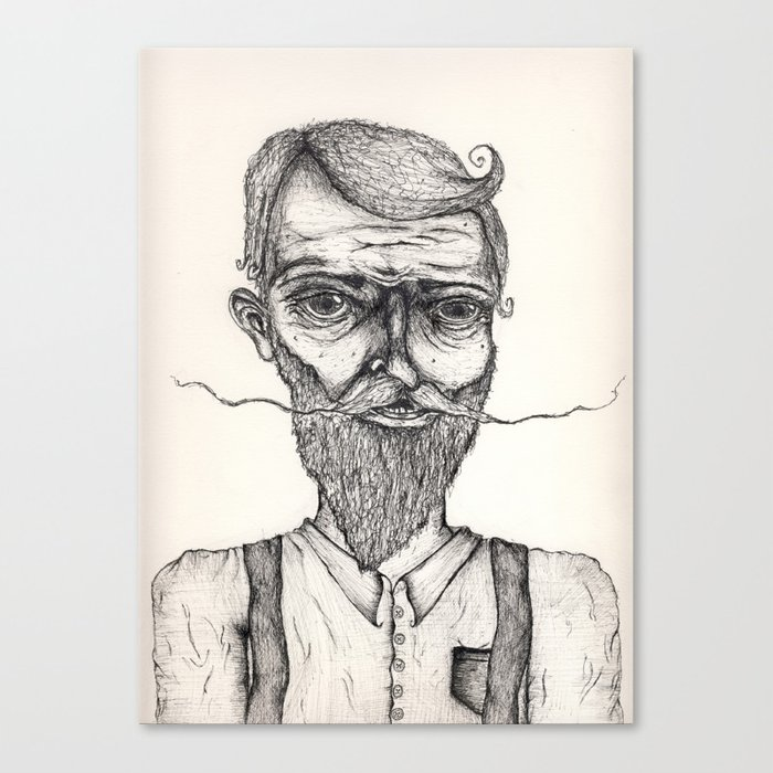 Mister Sir Canvas Print