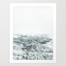 | In cosmic cold - endless winter | Art Print