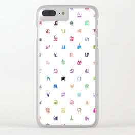Everything and Everyone Clear iPhone Case