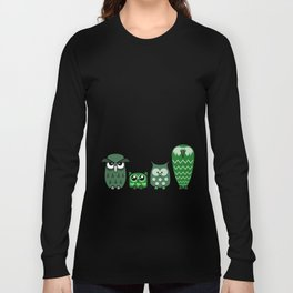 All is Owly (green) Long Sleeve T-shirt