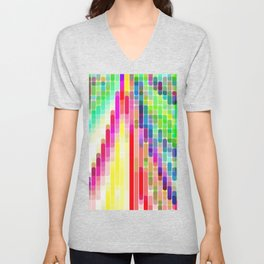 Re-Created Cypher 6.0 by Robert S. Lee Unisex V-Neck