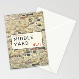 Middle Yard - London Stationery Cards