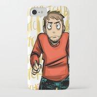 jesse pinkman iPhone & iPod Cases featuring Jesse Pinkman  by zacksellsstuff