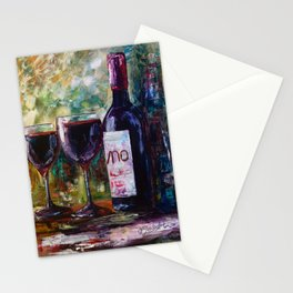 """Aged Wine"" Stationery Cards"
