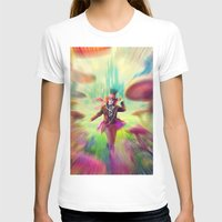 mad hatter T-shirts featuring Mad Hatter by dreamshade