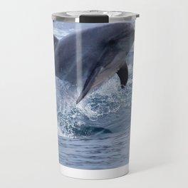 Bottenose dolphin Travel Mug