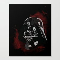 vader Canvas Prints featuring VADER by Josh Ln