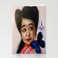 ahs Stationery Cards featuring Ma Petite-AHS by MELCHOMM