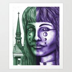The Church 2 Art Print