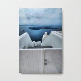 Santorini 13 Metal Print