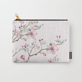 Apple Blossom Pink #society6 #buyart Carry-All Pouch