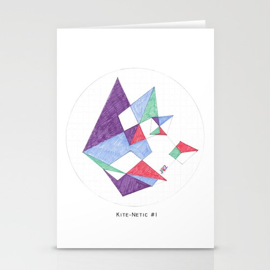Kite-netic #1 Stationery Cards