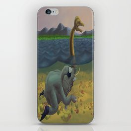 The truth of Loch Ness iPhone Skin