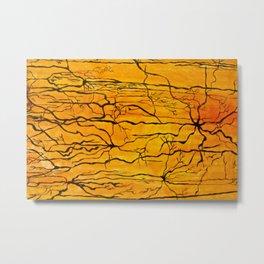 Neural Activity (An Ode to Cajal) Metal Print