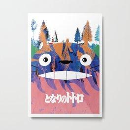 Toto Ro (Miyazaki) Metal Print
