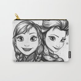 Frozen Sisters Carry-All Pouch