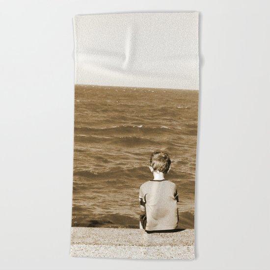 All By Myself Beach Towel
