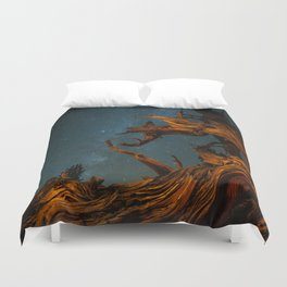 Golden Pine. Duvet Cover