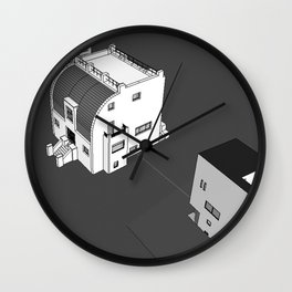 LOOS UTOPIA 1 Wall Clock