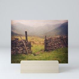 Ben Nevis Mountian range Mini Art Print