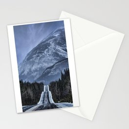 Journey on the Icefields Parkway Stationery Cards