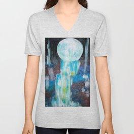 Moon Falls Unisex V-Neck