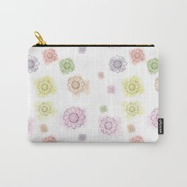 Floral summerprint Carry-All Pouch