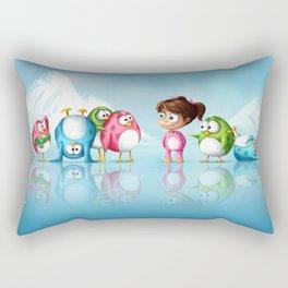 I'm a penguin too ! Rectangular Pillow