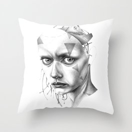 THE SPACEINVADERS 7# Throw Pillow