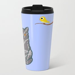 The Cat and the Canary - - Travel Mug
