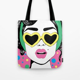 Heart Eyes 2 Tote Bag