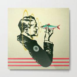 Hypnotic sardine  Metal Print