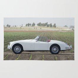 1956 Jaguar XK Rug