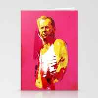 die hard Stationery Cards featuring Live fast die hard by Robert Farkas