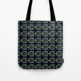 Edgy  Pattern Tote Bag