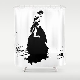 dont steal the childhood Shower Curtain