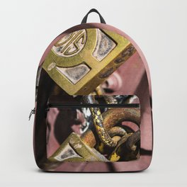 Chained doors Backpack