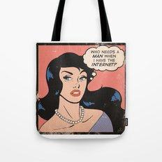 Internet Comic Tote Bag