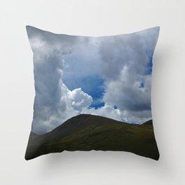 Mount Snowdown Throw Pillow