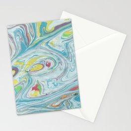 Colorful Marble Stationery Cards