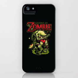 Legend of Zombie iPhone Case