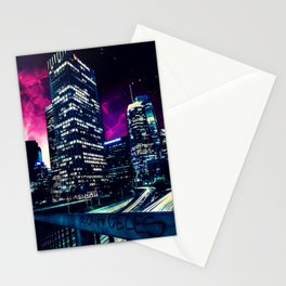 Spacey Los Angeles Stationery Cards